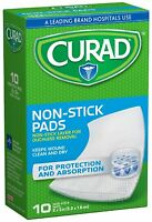 Curad Non-stick Pads 2 X 3 10 Each (pack Of 8)