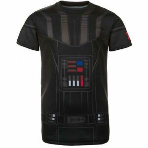 Palmadita Ballena barba lápiz  Under Armour Boys Star Wars Darth Vader Compression T-Shirt Black 1276068  001 | eBay