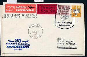 97556) Rda Coursier Carte If So-lp Berlin-paris 30.5.89-afficher Le Titre D'origine
