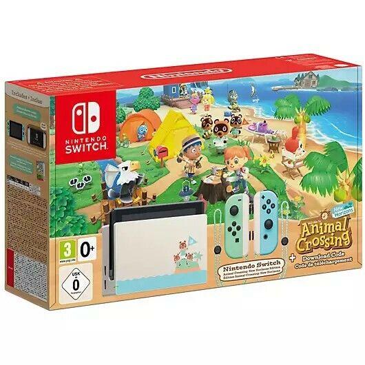 Nintendo Switch HAC-001(-01) Animal Crossing: New Horizons ...