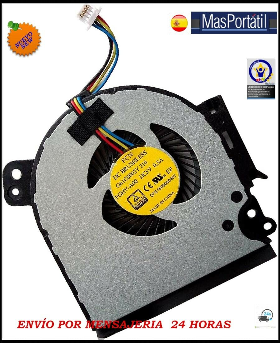 Fan New / Fan Toshiba Satellite Pro R50-C-15P R50-C-15W FAN27