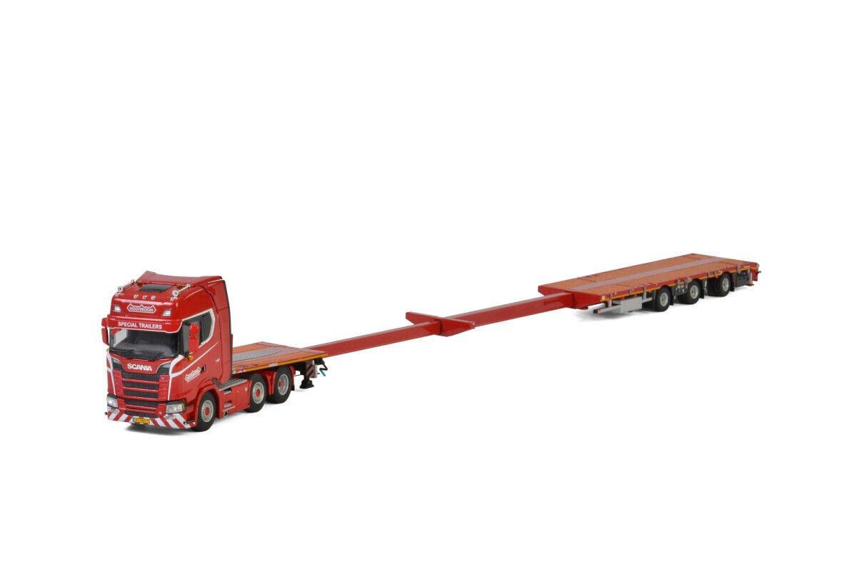 WSI Models Scania S Highline CS20H 6X2 Caja Mega Remolque 3 Eje knt 5661640