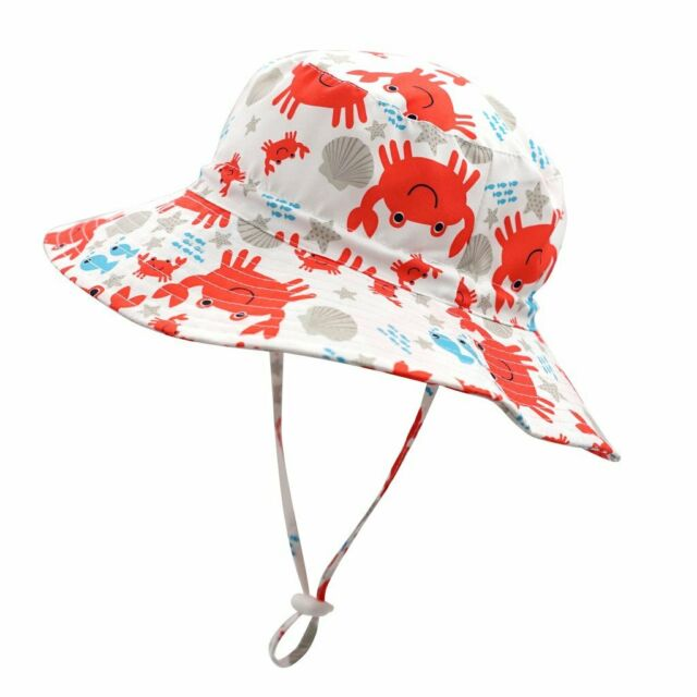 Home Prefer Kids UPF50 Safari Sun Hat Breathable Bucket Hat Summer Play Hat