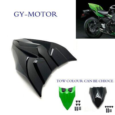 Black Motorcycle Rear Seat Cowl Cover For Kawasaki Z650 Ninja 650 2017 SCL