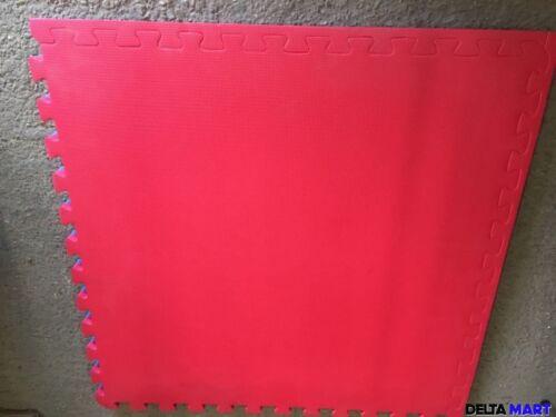 Tappetini morbidi ad incastro Floor Area Gioco Schiuma Esercizi Yoga Palestra Tappetini 2 1mx1m 40mm