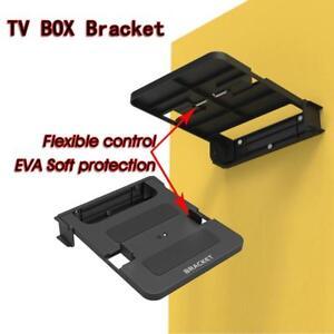 Universal-100-138mm-TV-Box-Stand-Top-Box-Wall-Mount-Holder-Router-Bracket-Shelf