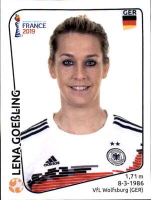 Deutschland Panini Frauen WM 2019 Sticker 114 Lena Petermann
