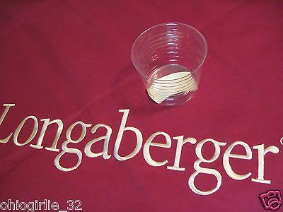 Longaberger~ Plastic Protector for Mini CC May Series Peony Basket