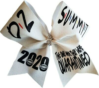 This Girls is D2 Summit Bound Cheer Bow