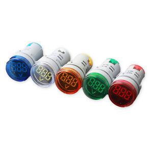 KF-Q-AC-20-500V-LED-Digital-Display-Voltmeter-Signal-Light-Voltage-Meter-Indi