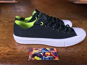 1932ceb7c5d6 Converse Chuck Taylor All Star II OX Mens Black White Casual Shoes ...