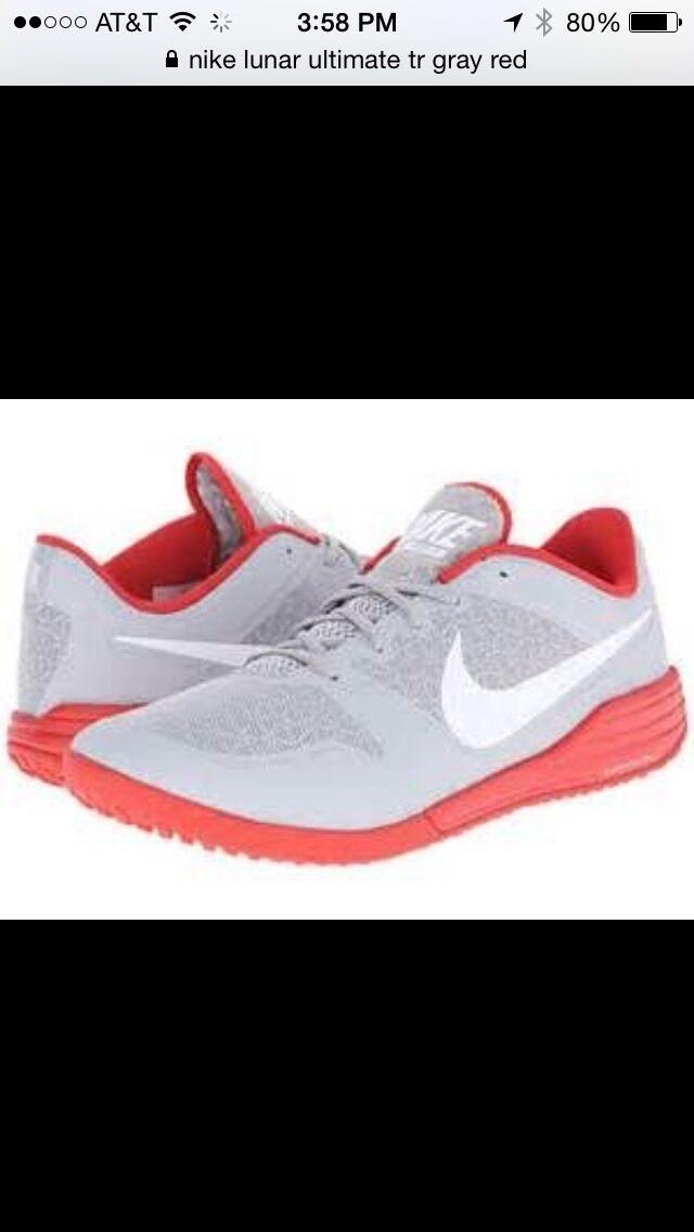de245d2201ac0 ... NIB Nike LUNAR LUNAR LUNAR ULTIMATE TR Gray