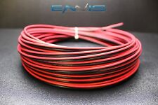 16 Gauge 1000 FT Red Black Speaker Zip Wire AWG Cable Power Stranded Copper Clad