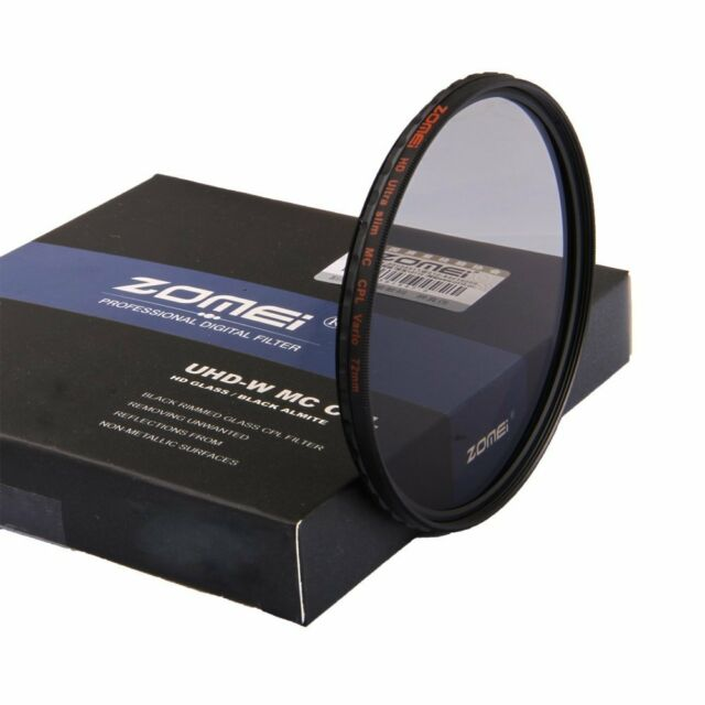 ZOMEI 82mm HD Slim MC Circular Polarizer Polarizing CPL Filter for DSLR Lens