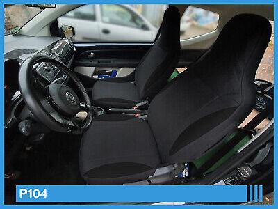 VW UP Maß Schonbezüge Sitzbezug Sitzbezüge Fahrer /& Beifahrer P104