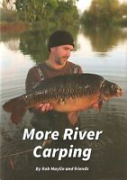 MAYLIN ROB COARSE FISHING BOOK MORE RIVER CARPING OFF THE BEATEN TRACK new
