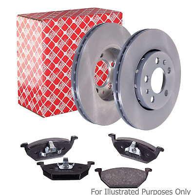 Genuine OE Quality Febi Front Vented Brake Disc & Pad Kit