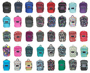 JANSPORT BIG STUDENT BACKPACK ORIGINAL 100% AUTHENTIC SCHOOL BOOK ...