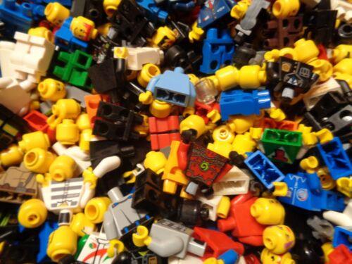 good condition Lego 30 x body polybag character mix 10 xhead x10 body x10 leg