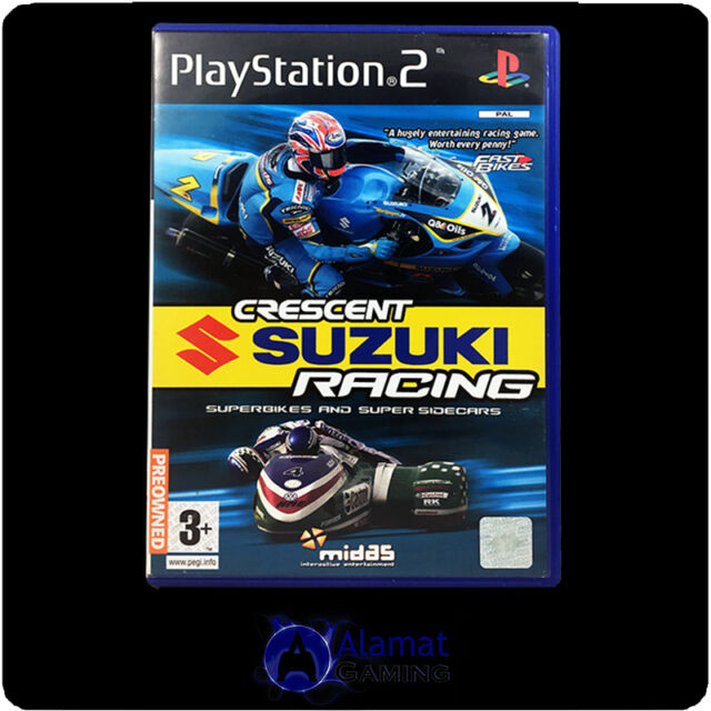 Crescent Suzuki Racing Superbikes Playstation 2 (PS2)  VGC - Complete