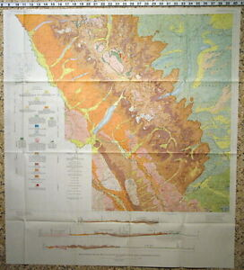Details about USGS GLACIER NATIONAL PARK & FLATHEAD REGION Hard Cover with  ALL MAPS 1959 NICE!