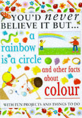 """AS NEW"" Rainbow Is A (You'd Never Believe), Taylor, Helen, Book"