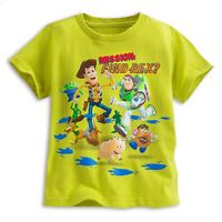 Disney Store Toy Story Short Sleeve T Shirt Boy Size 4 5/6