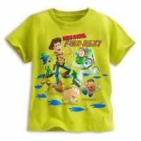 Disney Store Toy Story Short Sleeve T Shirt Boy Size 4 5/6