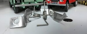 Land Rover Series 2a 3 Lightweight Smiths Heater Door Springs & Clips Catches