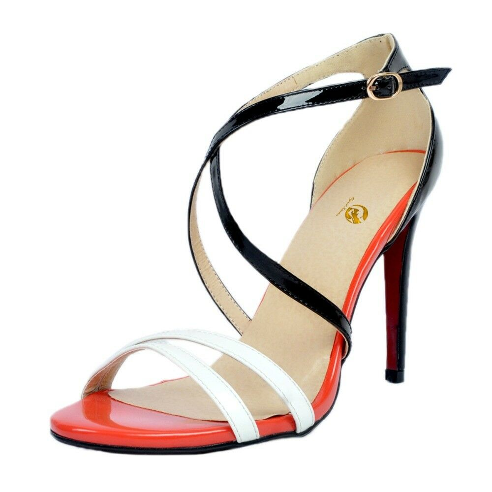 Original Intention Women Sandals Sexy Open Toe Toe Toe High Heel shoes Plus Size 4-20 40acb6