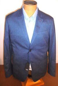 Jack-Spade-Textured-Cotton-Blend-2-Button-Sport-Coat-NWT-42R-348-Blue