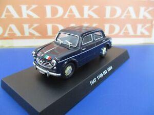 Die-cast-1-43-Modellino-Auto-Carabinieri-Fiat-1100-103-1954-blu