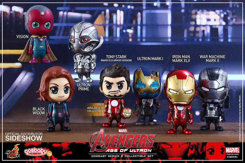 Avengers 2 Ålder av Ultron Series 2 Cosbebis Figur Set (7) heta leksaker