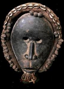 Old   Tribal Dan   Ceremonial Headdress  Mask       -- Coted'Ivoire BN 46