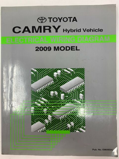 2009 Toyota Camry Hybrid Vehicle Electrical Wiring Diagram Repair Manual