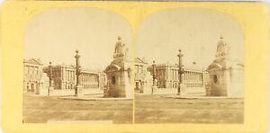 Francia-Parigi-Place-Da-La-Concorde-Ca-1865-Foto-Stereo-Vintage-Albumina-PL62L7