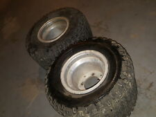 Honda atv rear ITP aluminum wheels tires 250r trx 450r 450er 400ex 300ex 250x