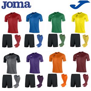 20bbdbf9f09 JOMA FOOTBALL FULL TEAM KIT KIDS BOYS CHILDREN SPORTS STRIP SHIRTS ...