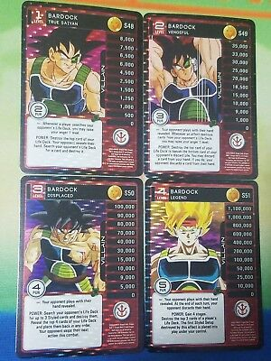 Dragon Ball Z DBZ CCG TCG Custom Panini Proxy Foil Kami 1-4 MP Set