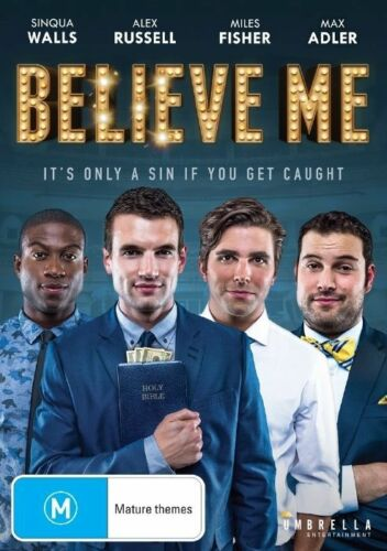 1 of 1 - Believe Me (DVD, 2015)