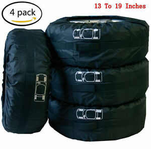 Car-Spare-Tire-Storage-Protection-Bag-13-034-19-034-Wheel-Tyre-Carry-Tote-Cover-4-Pcs