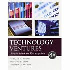 Technology Ventures: From Idea to Enterprise by Andrew Nelson, Thomas H. Byers, Richard C. Dorf (Hardback, 2014)