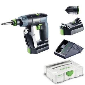 Festool-Akku-Bohrschrauber-Schrauber-CXS-Li-2-6-Plus-Nr-564531-im-Systain