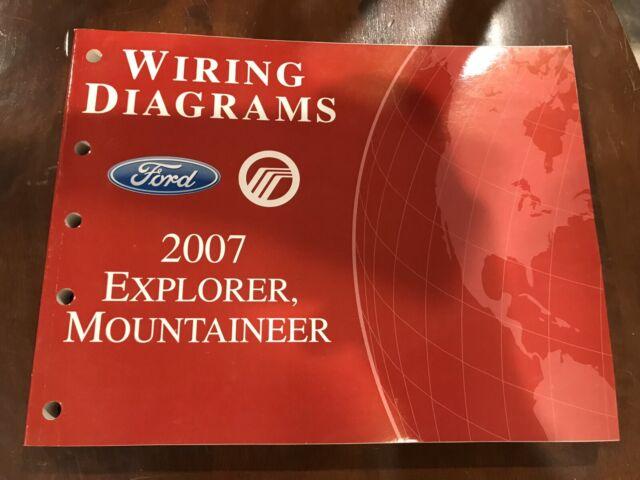 2007 Ford Explorer  U0026 Mercury Mountaineer Oem Wiring