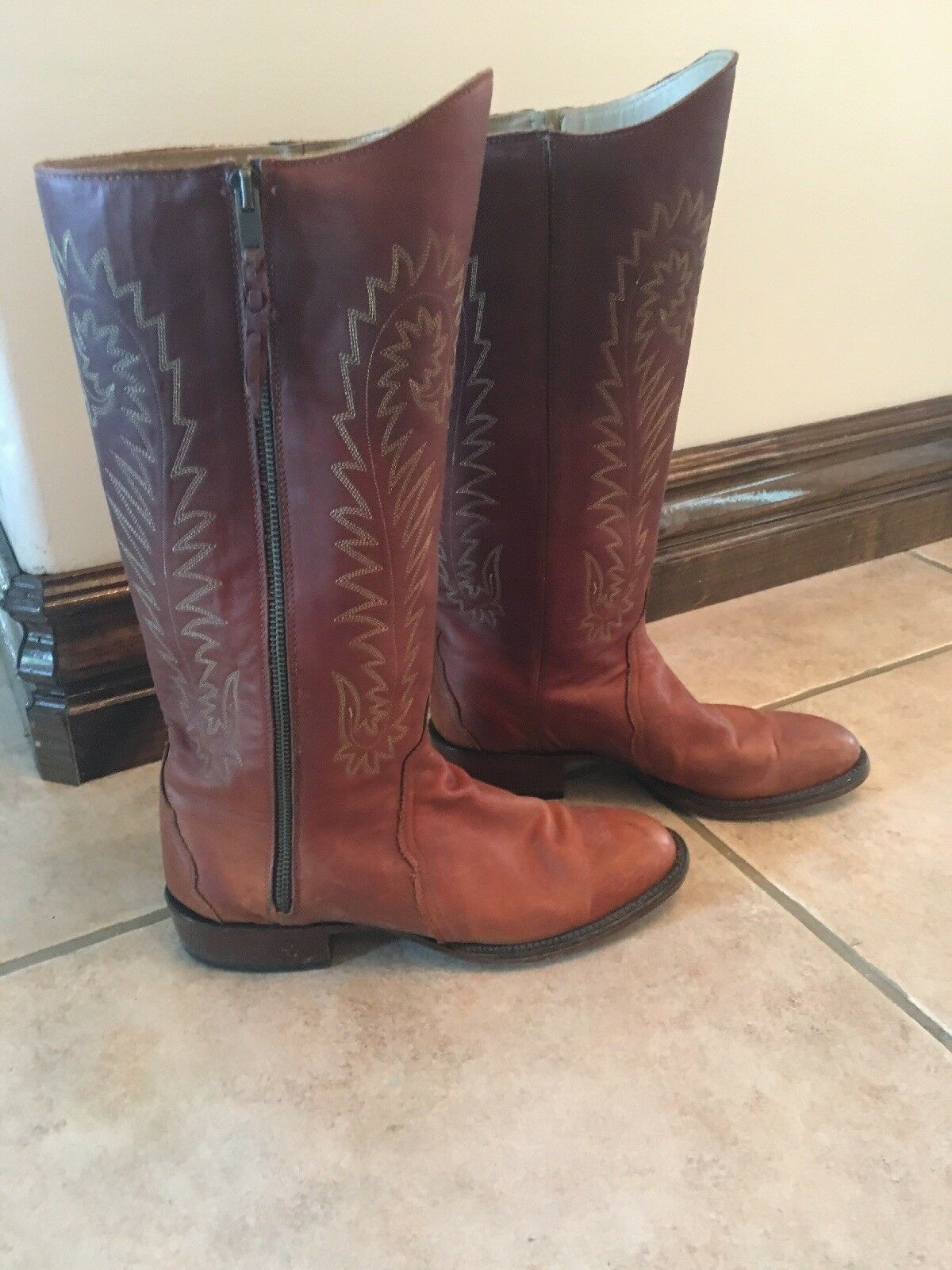 Womens Lucchese Heritage Boots HL4513 8 8 1 2 B01011