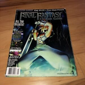 Final-Fantasy-VII-Versus-Books-Ultimate-Strategy-Guide-PlayStation-NO-POSTER