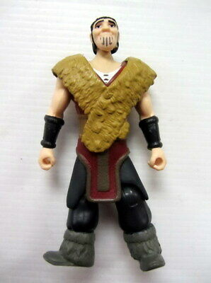 lot of 2 How To Train Your Dragon HICCUP Eret  ACTION Figure