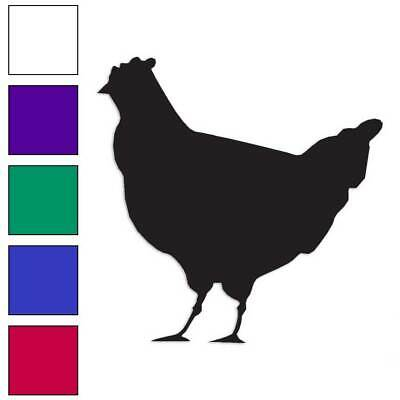 Farmhouse Chicken Coop Farmyard Poultry Vinyl Decal Free Shipping 0006 Rooster