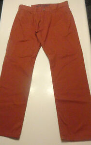 Men S Old Navy Five Pocket Twill Rock Red Pants Size 29 X