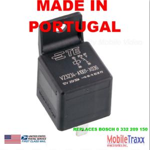 Tyco-Relay-V23234-A1001-X036-12V-5-PIN-SPDT-20-30A-Bosch-Style-1YR-Exchange